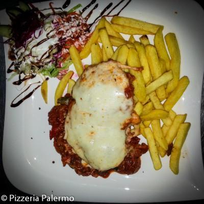 Kotelett auf italienische Art